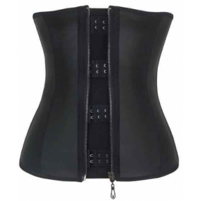 New zipper with clip latex waist trainers