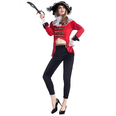 2017 Halloween costume witch game suit sexy beauty pirate suit pants uniform temptation nightclub
