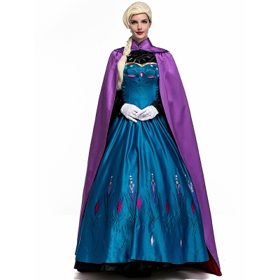 2017 new Halloween queen costume fairy tale dress stage performance costumes