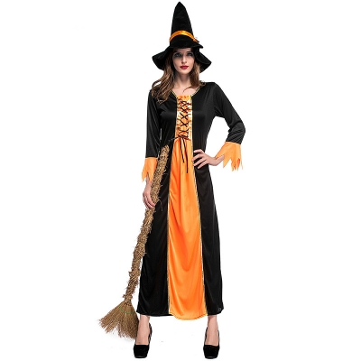 2017 Halloween costume adult witch witch dress up Cosplay bar party dress