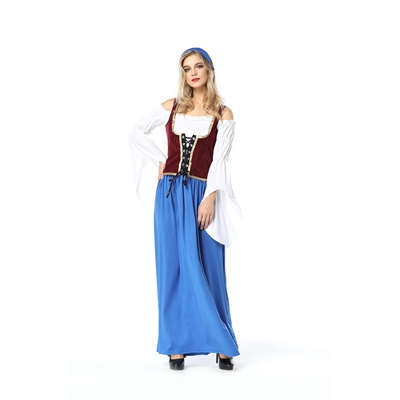 Bavarian national costume German beer festival long beer sister waitress clothing