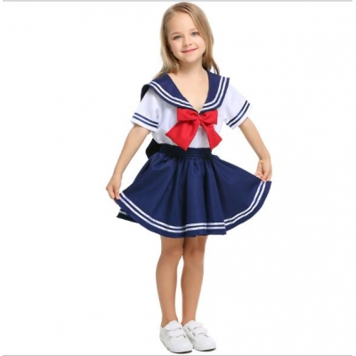 New children's navy sailor uniforms Foreign trade export kindergarten sailors warrior COS clothing boys and girls
